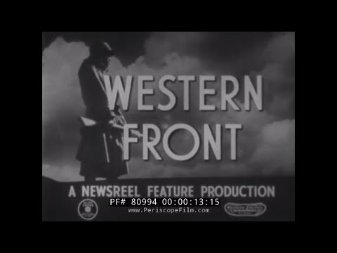 CHINA OUR WESTERN FRONT  WWII CHINESE NATIONALIST ARMY FILM 80994