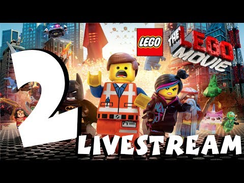 The Lego Movie videogame PS4 Gameplay Livestream Part 2 1080P