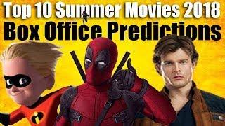 Top 10 Summer Movies 2018 Box Office Predictions