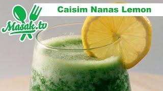 Caisim Nanas Lemon | Minuman #072