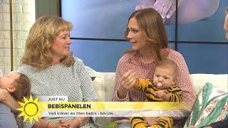"""Bebispanelen om amning: """"Jag var nära att börja gråta varje gång i början"""" - Nyhetsmorgon (TV4)"""