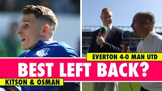 Is Digne the best left back in the Premier League? | Everton 4-0 Man Utd | Astro SuperSport