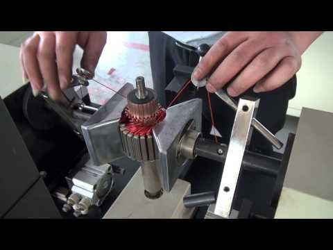 Semi Automatic Armature Winding Machine-Nide Mechanical