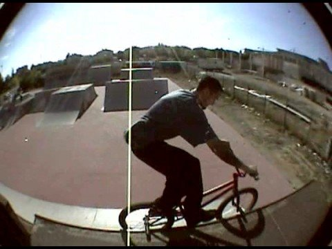 mudo y norton bmx skate park Video