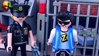 مغامرة Playmobil العاب اونوكسينج مطاردة على سيارة للشرطة.