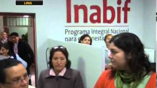 Inabif: Crecimiento Inclusivo