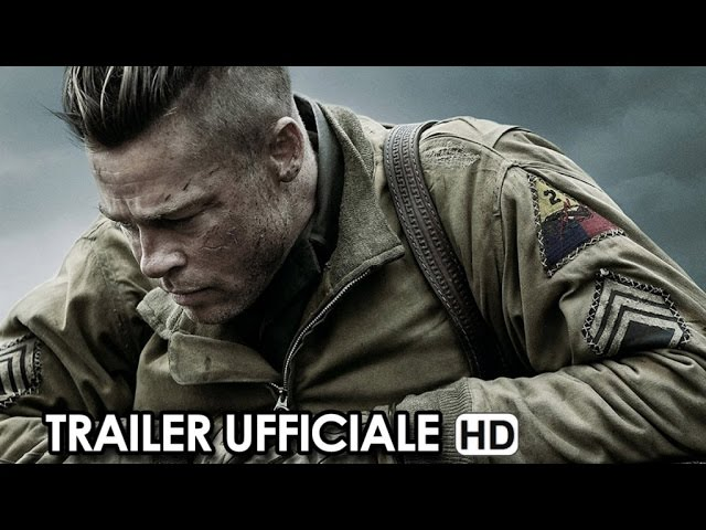 FURY Trailer Ufficiale Italiano + Cinema News (2015) - Brad Pitt Movie HD