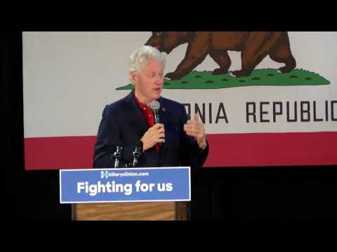 Bill Clinton at Shasta College