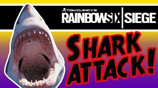 SHARK ATTACK! (Custom Game) | Rainbow Six Siege (Funny Moments)