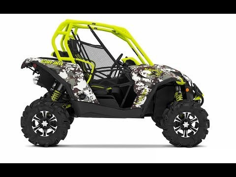 2015 Can-Am Off-Road lineup catalog