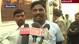 Fire Accident in At Teacher House | Bokkala Guda | Adilabad