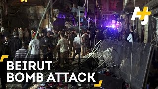 Lebanon Bombing: Suspected Double Suicide Bomb Attack Hits Beirut