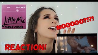 Cheat Codes, Little Mix - Only You MUSIC VIDEO REACTION | Hannah Dorman