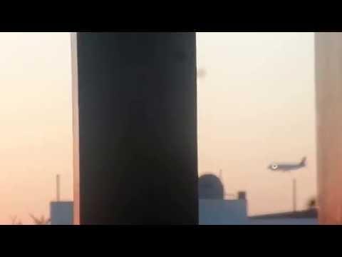Avion Llegando  A Culiacan