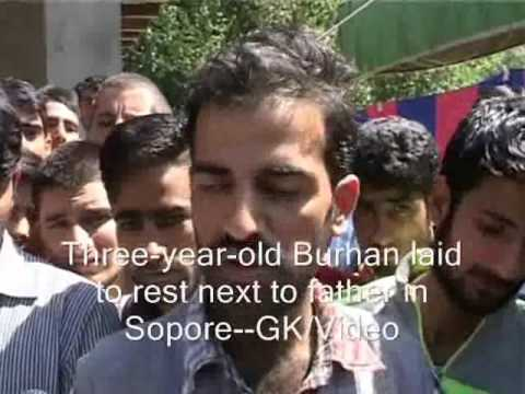 Emotions Run High At Father-Son Funerals In Sopore