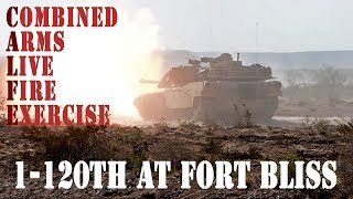 1/120th CALFEX at Fort Bliss