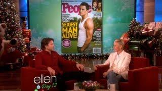 Bradley Cooper Talks Channing Tatum Sexiest Man Alive with Ellen