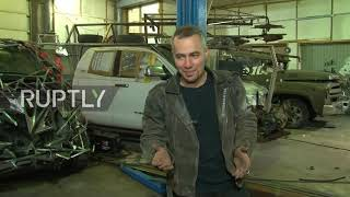 These cars will DRIVE you crazy! Irkutsk man creates Mad Max-inspired vehicles