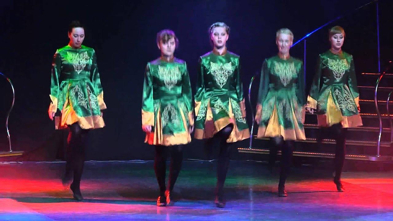 Летний отчетный концерт танцевальной школы  DIVA Studio в Гигант-холле 08.06.2014 года. Видео Ирландских танцев.