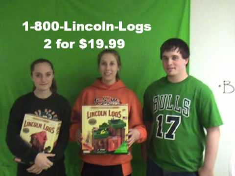 Lincoln Logs Pics. Lincoln logs commercial for