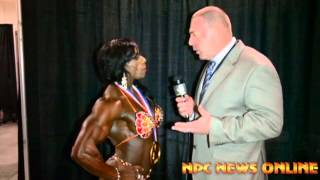 2013 Olympia: Women's Bodybuilding Winner Iris Kyle Interview