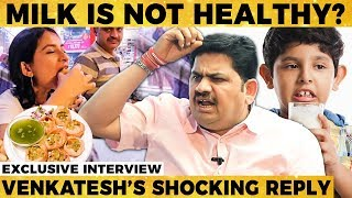 Roadside PANI PURI Leads to Cancer? - Chef Venkatesh Bhat's Shocking Reply