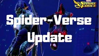 New Update Spider-Verse Spider Man Miles Morales & Green Goblin - Marvel Strike Force MSF