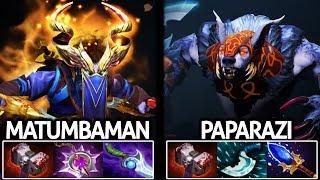 Matumbaman Riki VS Paparazi Ursa Battle of Agi Hero 7.21 Dota 2