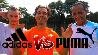 ADIDAS vs PUMA FUßBALL CHALLENGE | BROTATOS