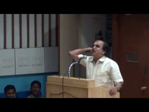 Dr. N. Gopalakrishnan speaks at IIT Madras (16.08.2012)