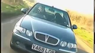 Old Top Gear - Rover 25, 45 and 75