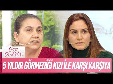5 yıldır görmediği kızı ile karşı karşıya! - Esra Erol'da 22 Ocak 2018