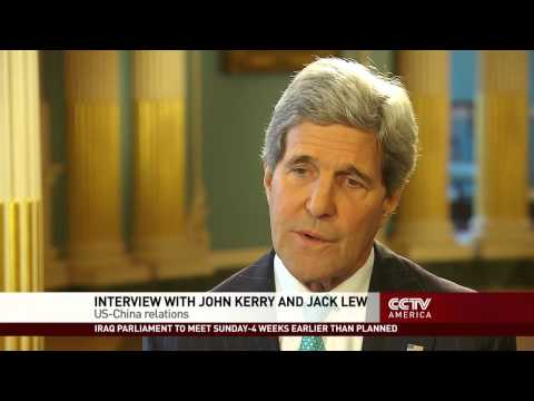 Exclusive interview with John Kerry and Jack Lew