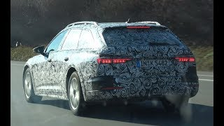 4K | All New 2020 AUDI A6 Allroad Quattro Prototype test drive