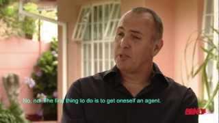 Arnold Vosloo Interview 2012 ENGLISH SUBTITLES