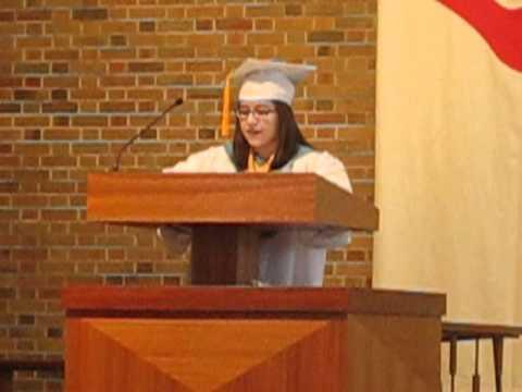 Josephinum Academy 2012 Valedictorian's Address