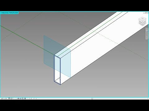 Revit 2015 Parametric Hollow Extrusions In Adaptive Component Environment Part 1 of 3
