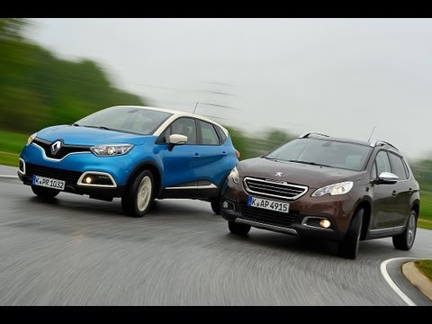 Renault Captur vs. Peugeot 2008