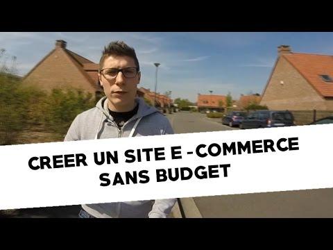 Comment Créer un site E-commerce SANS budget ?