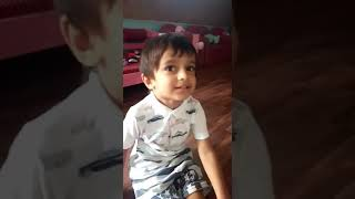 Jan gan man...cute little boy sing....