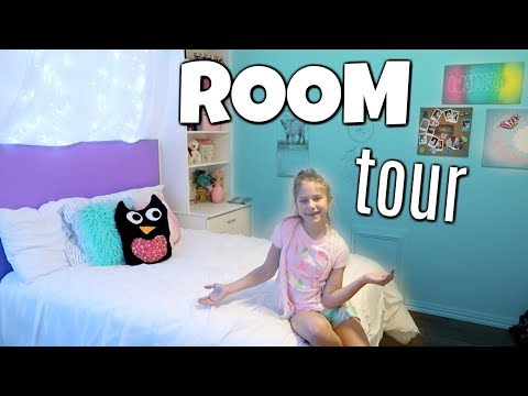 Complete Room Tour! My New Room Makeover 2018! ft Heyy Haley