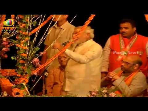 Narendra Modi full speech at Varanasi - Victory Speech - Rajnath Singh, Amit Shah