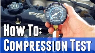 Easy Way To Preform An Engine Compression Test