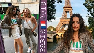TRAVEL VLOG - 5 DAYS IN PARIS 🇫🇷🍷 SUMMER 2018