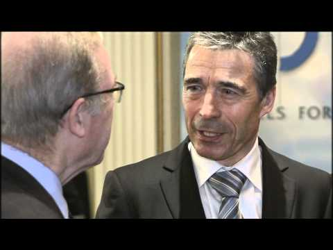 NATO Secretary General Anders Fogh Rasmussen at Brussels Forum