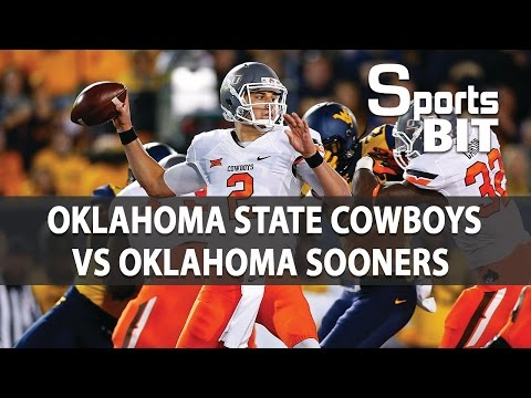 Oklahoma State Cowboys vs Oklahoma Sooners | Sports BIT | College Football Picks & Preview