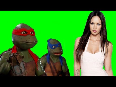 Megan Fox cast as April O'Neil in Michael Bay's Teenage Mutant Ninja Turtles 2014 Movie