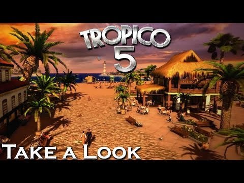 Tropico 5 - X360 PS3 Gameplay (XBOX 360 720P) Take a Look