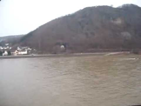 View across Remagen bridge from turret
