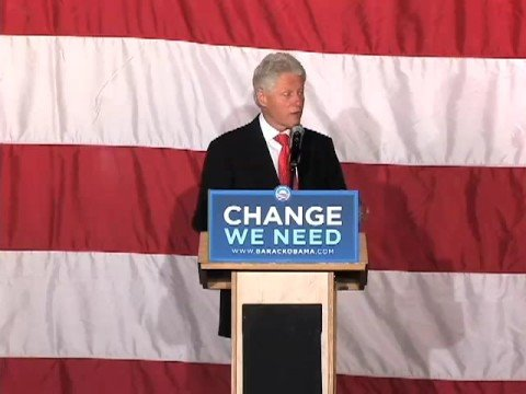 President Bill Clinton in Richmond